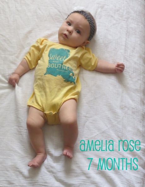 amelia 7 months