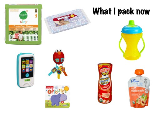 whats in my diaper bag now
